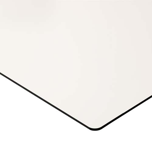 Pizarra blanca curva Camaleón acero vitrificado detalle 1