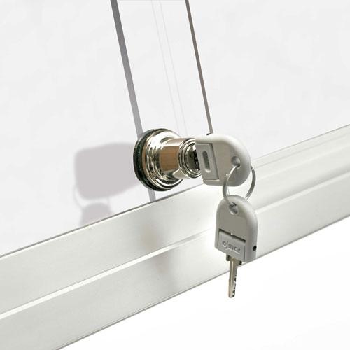 Mini Vitrinas con puertas correderas, fondo magnético detalle 5