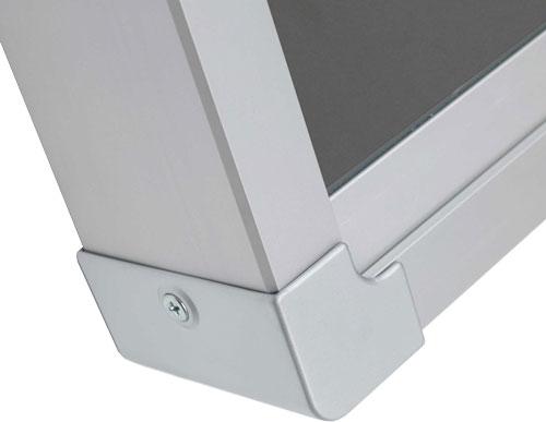 Mini Vitrinas con puertas correderas, fondo magnético detalle 6
