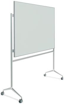 Pizarra vidrio con marco y soporte Y