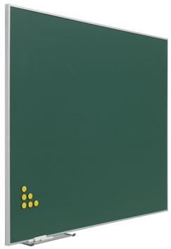 Pizarra verde acero vitrificado marco Mini