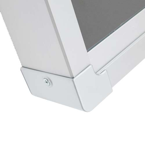 Mini Vitrinas con puertas correderas, fondo corcho detalle 6