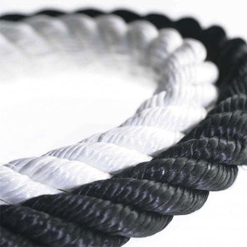 Postes separadores en aluminio para cordón detalle 5
