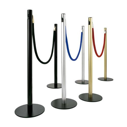Postes separadores en aluminio para cordón