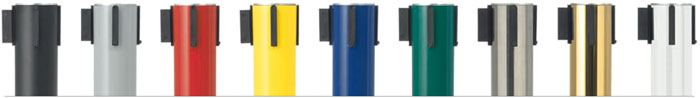 Postes separadores de cinta extensible retráctil detalle 2