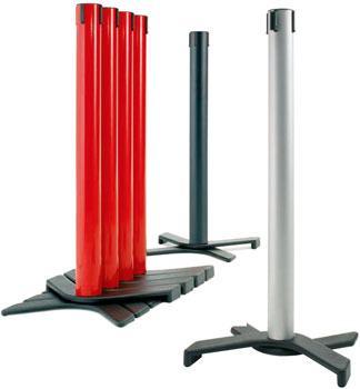 Postes separadores AX (rojo, negro o plata)