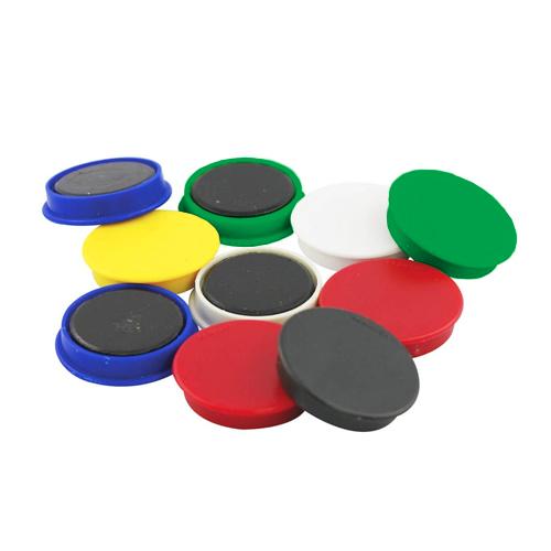 Imanes redondos diámetro 25 mm 6 unidades