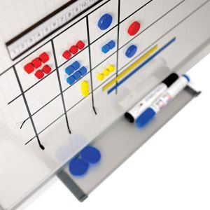 Imanes para plannings y pizarras magnéticas