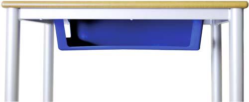 Pupitre escolar 140 x 50 cm detalle 8