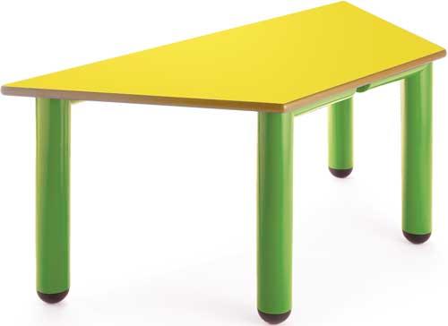 Mesa Nesta trapecio 110x55 cm detalle 3