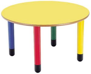 Adrada mobiliario infantil sillas y mesas polipropileno for Mesa redonda infantil