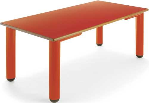 Mesa Nesta rectangular 110x55 cm detalle 3