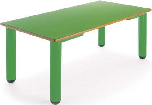 Mesa Nesta rectangular 110x55 cm detalle 4