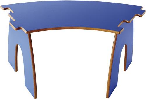 Mesa Animalitos curva puzzle 2 detalle 4