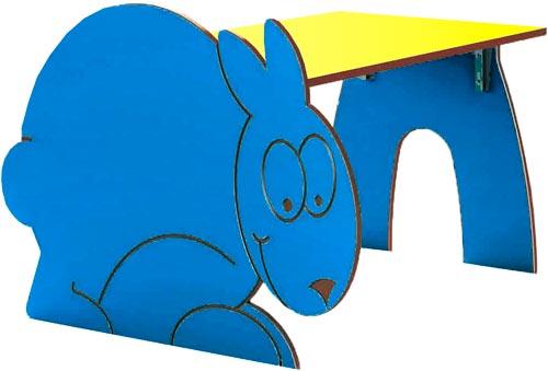 Mesa Conejo rectangular