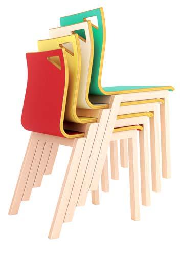 Mini Silla Dreams estructura de madera detalle 3