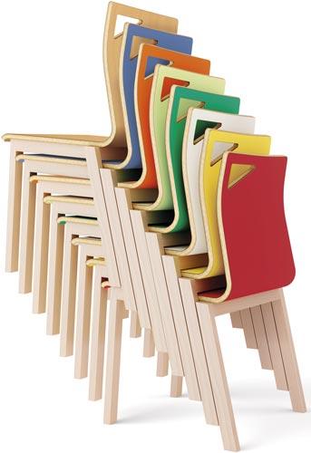 Silla Dreams estructura de madera detalle 6