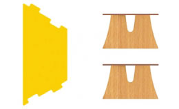 Mesa Arbolito trapecio puzzle 2