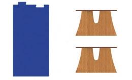 Mesa Arbolito rectangular puzzle 1
