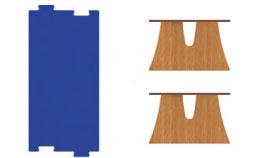 Mesa Arbolito rectangular puzzle 2