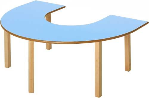 Mesa en U 150 x 100 cm