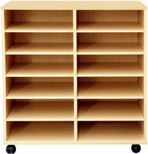 Muebles casilleros 112 cm alto