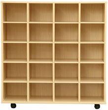 Muebles casilleros 112 cm alto detalle 1