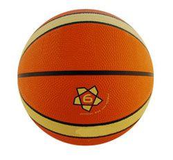 Balón baloncesto caucho naranja