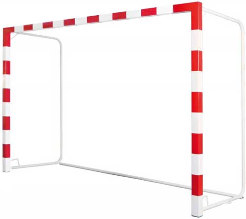 Porterías trasladables base tubo redondo 2 ud detalle 3