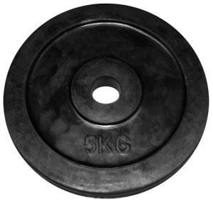 Pesos de discos de caucho
