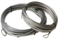 Cable de acero de repuesto para red tenis o pádel