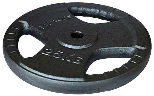 Pesos discos de hierro