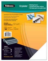 Tapas encuadernar PVC cristal