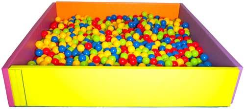 Piscina de bolas plegable detalle 3