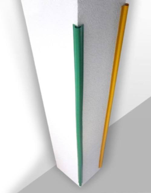 Cantoneras flexibles en PVC en color