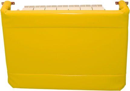 Protector radiador con estructura metálica