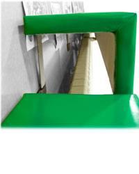 Protector radiador superior detalle