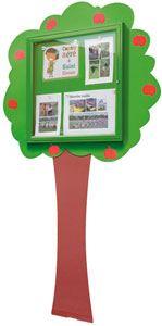 Vitrina infantil árbol