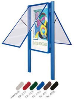 Vitrina Duomile 2 caras color