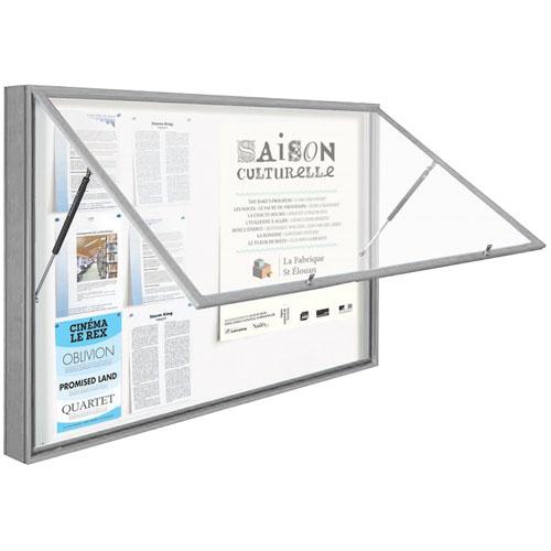 Vitrinas exteriores CLASS Aluminio levadizas