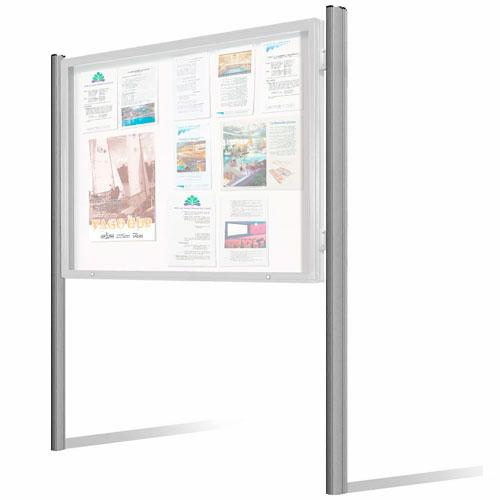 Postes vitrina MILE/DUO aluminio