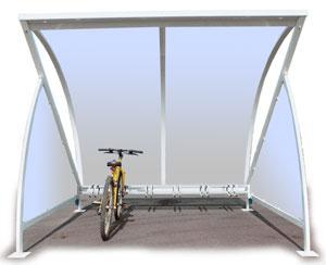 Refugio Moon para bicicletas