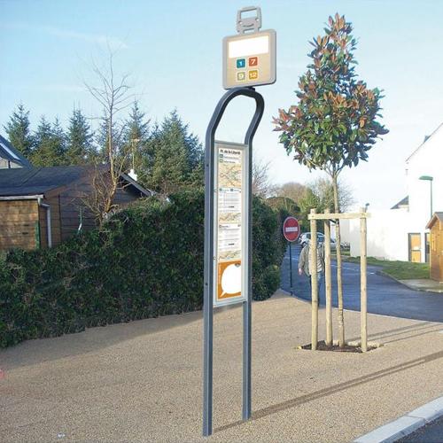 Tótem para parada de autobús VIALE detalle 1