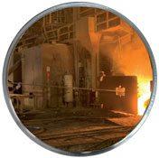 Espejos industria para entornos desfavorables
