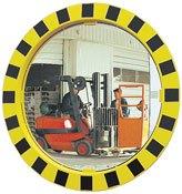 Espejos industria marco amarillo y negro. Control 2 direcciones Calidad 2