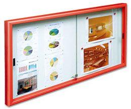 Vitrinas CLOSE con puertas correderas detalle 1