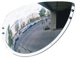 Espejos de salidas de aparcamiento. Visión gran ángulo