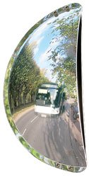 Espejos de salidas de aparcamiento. Visión gran ángulo detalle 1