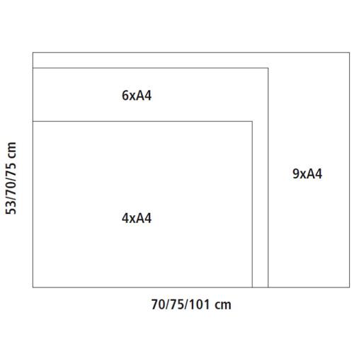 Vitrinas Interior/Exterior Corcho Abatibles ROCA detalle 1