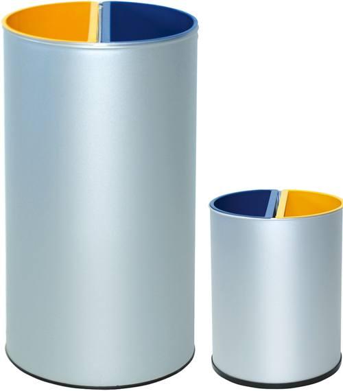 Papelera reciclaje 2 depósitos